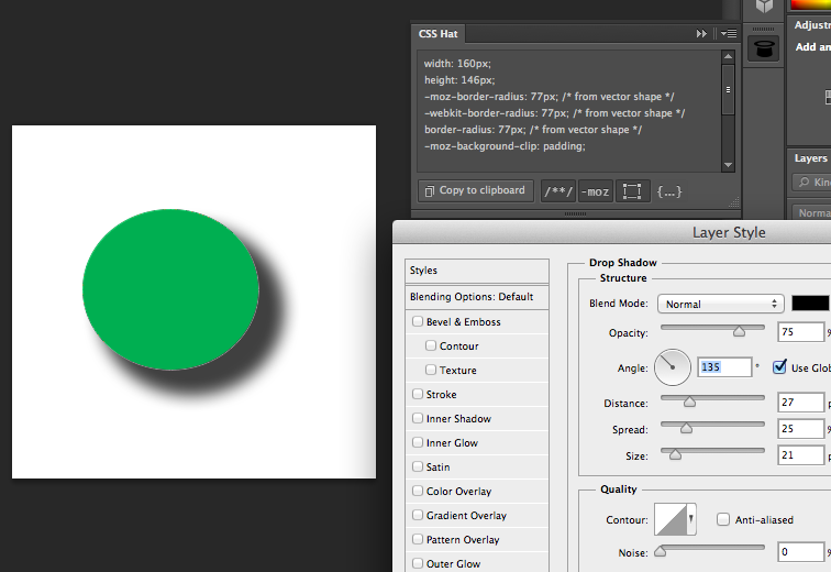 Product Review: CSS Hat – Generating CSS3 from Photoshop layers